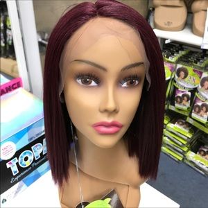 Other - Burgundy red bob lace front wig